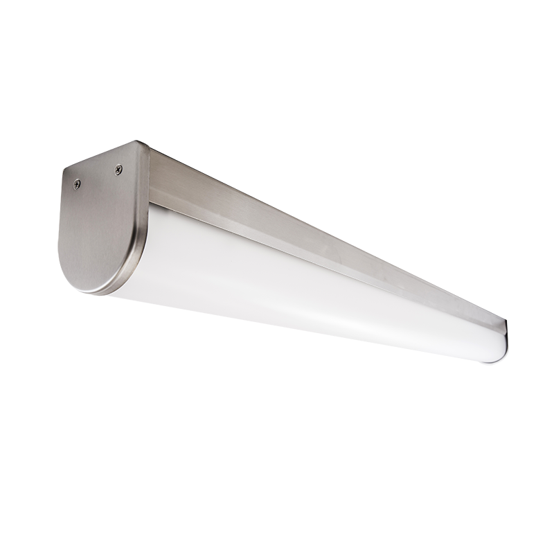 The Kurtzon FP-VEGA-A-LED Profile Wrap is a Sealed Surface 4' LED Model suitable for food prep, processing areas, and Wet Locations. It has several mounting options.