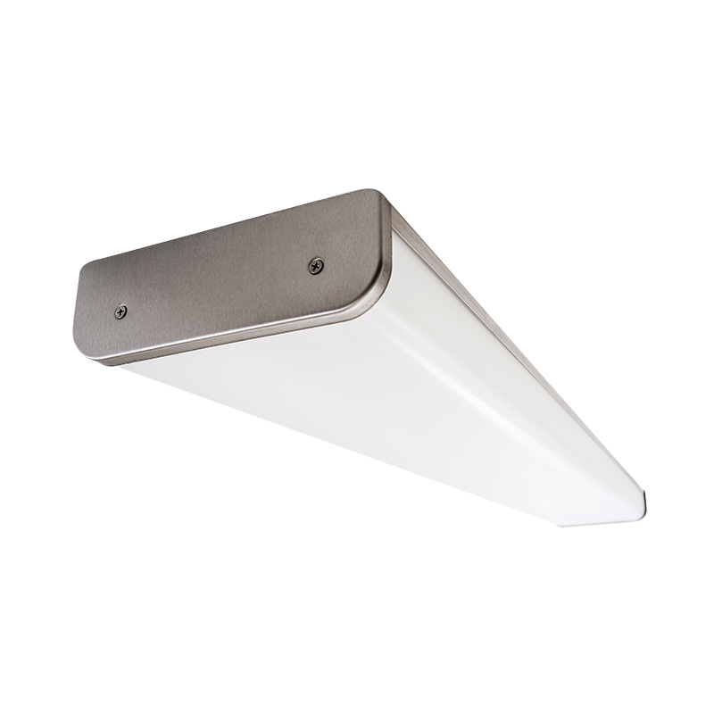 The Kurtzon FP-VEGA-C-LED Profile Wrap is a Sealed Surface 4' High Efficiency LED Wrap Luminaire with several mounting options. It is suitable for food prep and processing areas as well as Wet Locations.