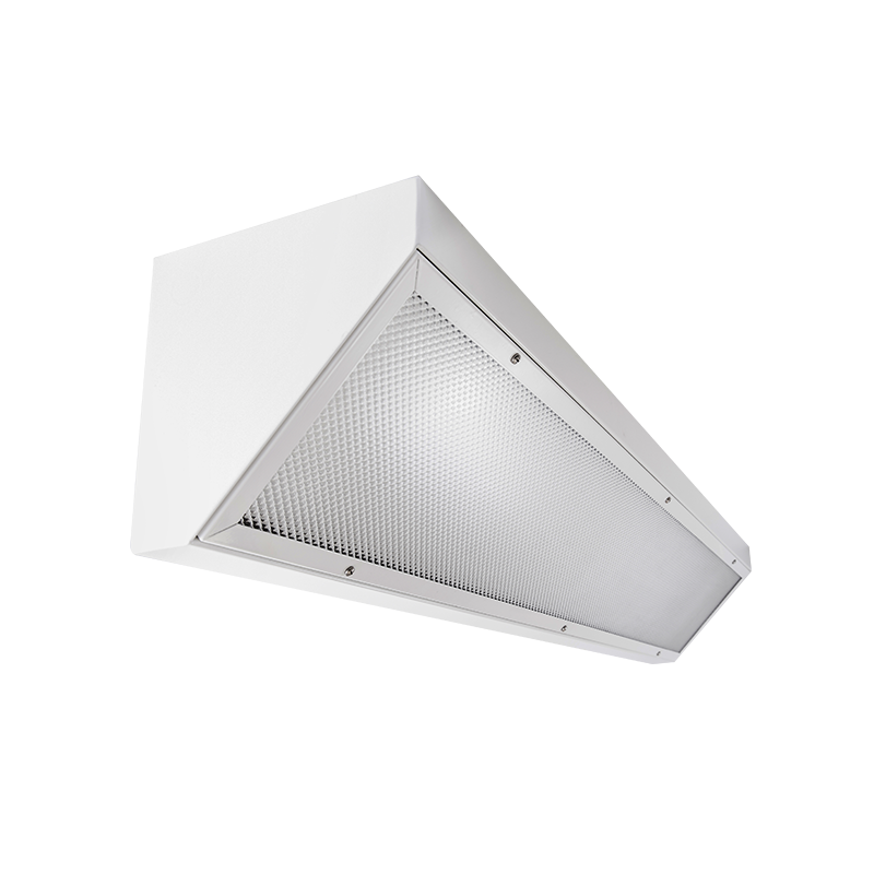 The KURTZON™ HL-COR-FLUOR is a Linear Corner Mount Fluorescent Fixture suitable for Wet and Hazardous Locations. T-Bar Grid or Row Mounting available.