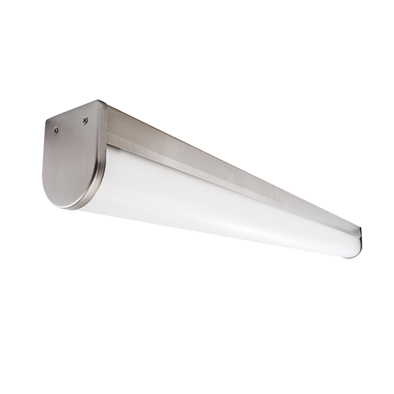 The KURTZON™ HL-VEGA-A-FLUOR is a Sealed 4' Linear Fluorescent Surface A-PROFILE WRAP Fixture Listed for Wet & Hazardous Locations, Row Mounting available.