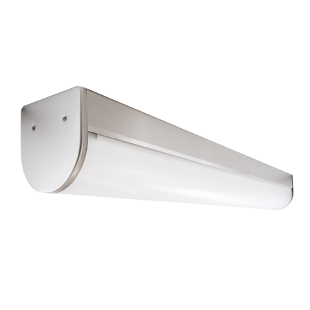 The KURTZON™ HL-VEGA-B-FLUOR is a Sealed 4' Linear Fluorescent Surface B-Profile Wrap Fixture Listed for Wet & Hazardous Locations with row mounting available.