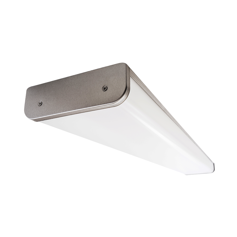 The Kurtzon HL-VEGA-C-FLUOR is a Sealed 4' Linear Fluorescent Surface C-Profile Wrap Fixture Listed for Wet & Hazardous Locations with Row Mounting available.