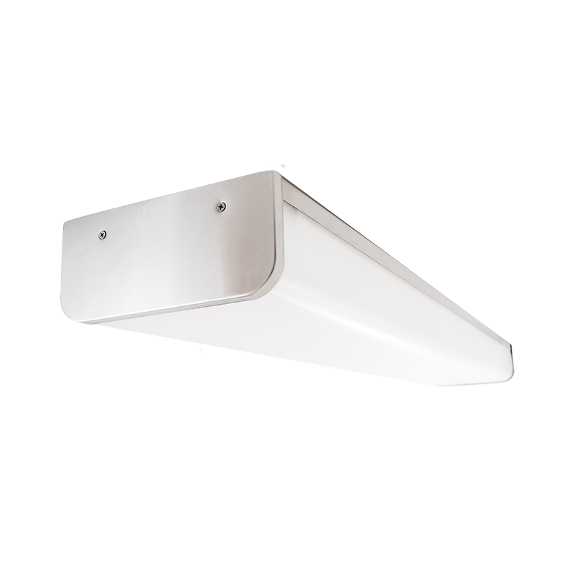 The KURTZON™ HL-VEGA-D-FLUOR is a Sealed 4' Linear Fluorescent Surface D-Profile Wrap Fixture Listed for Wet & Hazardous Locations with Row Mounting available.