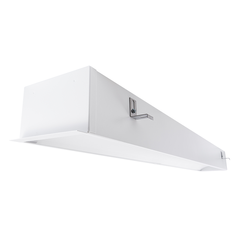 "The KURTZON™ ML-GPR-FLUOR is a 6""x46"" Recessed Fluorescent Luminaire for patient rooms and Damp Locations."