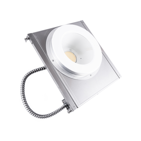 """The KURTZON™ ML-IBD-LED is a Non-Magnetic Recessed Sealed 6"""" Aperture LED Downlight with Non-Ferrous Construction for use in MRI Suites and Wet Locations."""