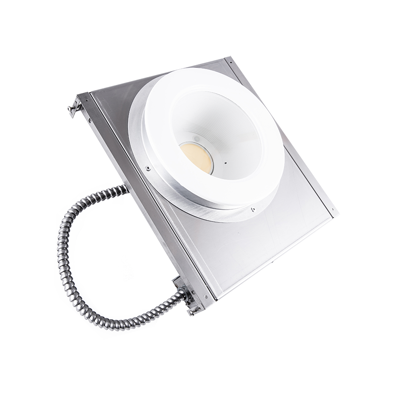 """The Kurtzon ML-IBD-LED is a Non-Magnetic Recessed Sealed 6"""" Aperture LED Downlight with Non-Ferrous Construction for use in MRI Suites and Wet Locations."""