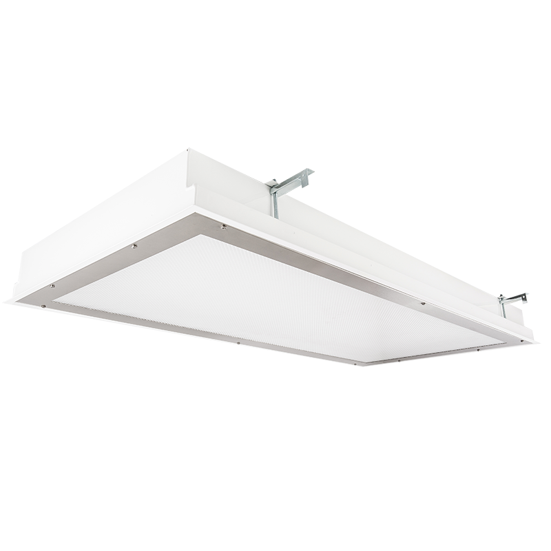 The KURTZON™ TLX12-FGS-FLUOR is a 1x4, 2x2 and 2x4 Fluorescent Recessed Fixture suitable for Wet Locations .