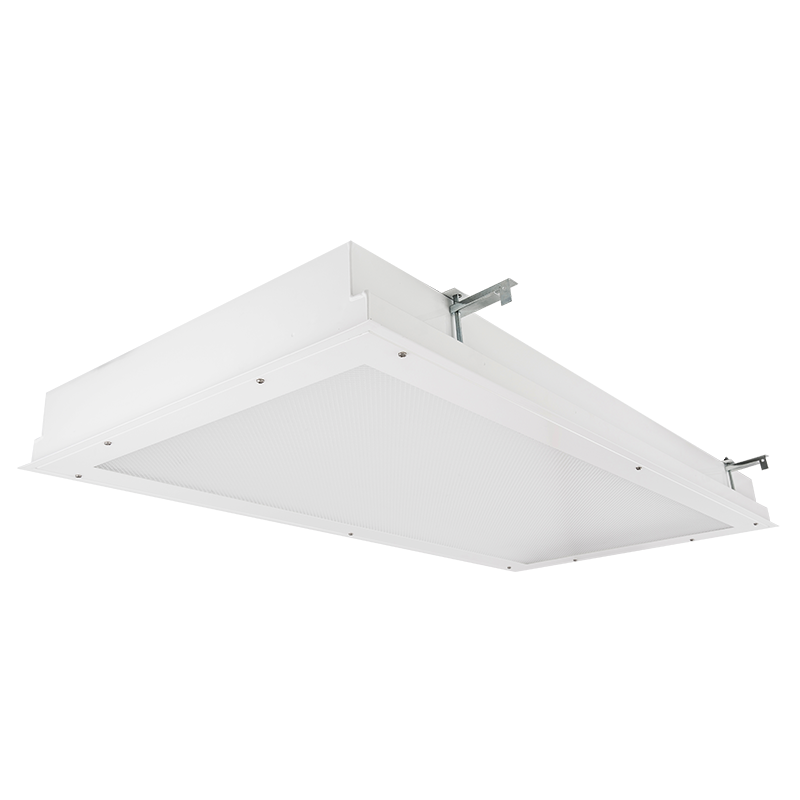 The Kurtzon VL-FGRS-BH-LED is an Anti-Ligature 1x4, 2x2 and 2x4 Recessed and Surface Mounted LED Fixture for Behavioral Health Facilities suitable for Wet Locations.