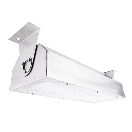The KURTZON™ VL-ST-LED is a Vandal Resistant High Abuse 2' Surface Mount LED Fixture Suitable for Wet Locations and for Use in Underpasses and Other Public Spaces