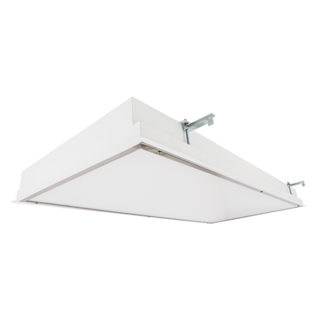 The KURTZON™ WL-FGS-FLUOR is a 1x4, 2x2 and 2x4 Recessed Fluorescent Fixture for Wet Locations .