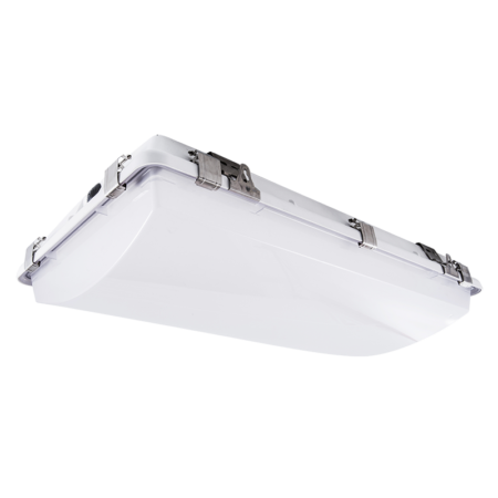"""The KURTZON™ WL-SEG-1520-LED is a Wet Location 15"""" x 2' Linear Vaportight LED Fituxe for Surface or Pendant Mounting."""