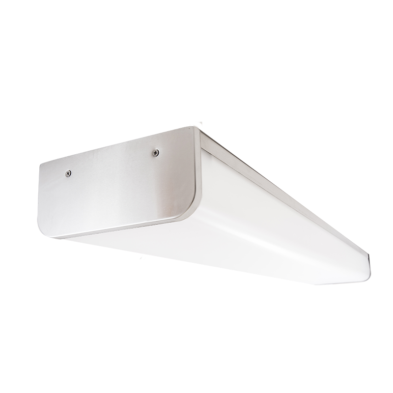 The Kurtzon WL-VEGA-D-LED is a Sealed Surface 4' LED Wrap Fixture with several mounting options suitable for Wet Locations.