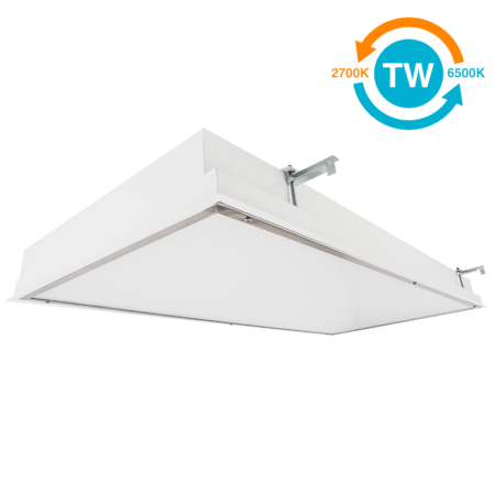 The KURTZON™ WL-FGRS-LED-TW is a Tunable White 1x4, 2x2 and 2x4 Recessed LED Fixture for Wet Locations.