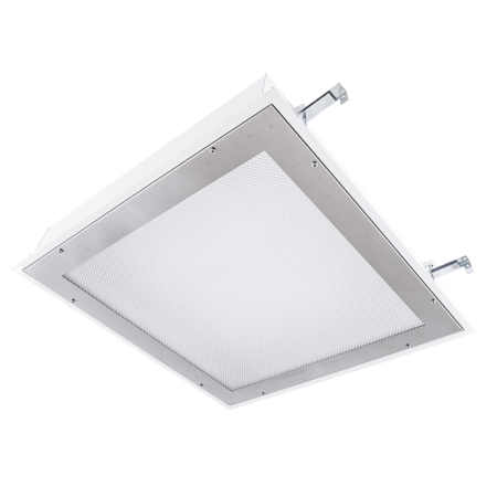 The KURTZON™ TL-FG-2X2-LEDB is a Wet Location and Cleanspace 2x2 High Lumen LED Luminaire for Recessed Highbays.
